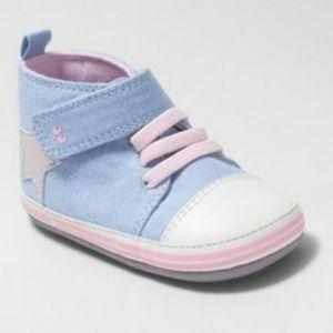 Stride Rite Baby Girls' Darla High Top Sneakers